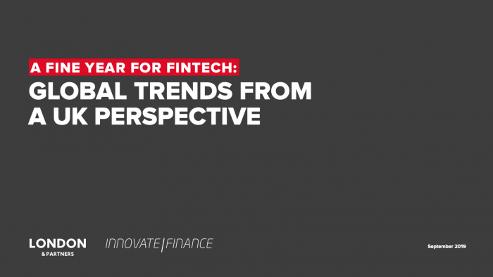 A Fine Year for FinTech:  Global Trends from a UK Perspective