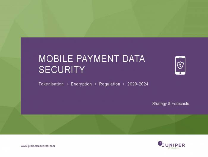 Mobile Payment Data Security