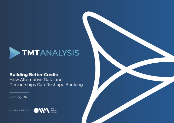 Building Better Credit: How alternative data and partnerships can reshape banking