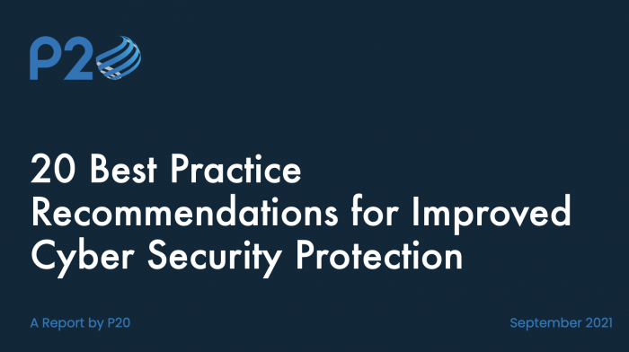 20 Best practice recommendations for improved cyber security protection