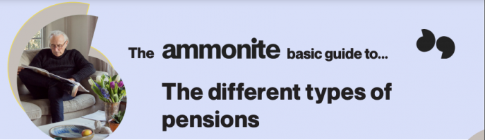 The ammonite basic guide to the different types of pensions