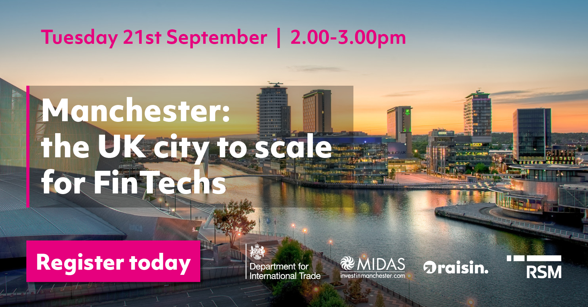 Manchester: the UK city to scale for FinTechs